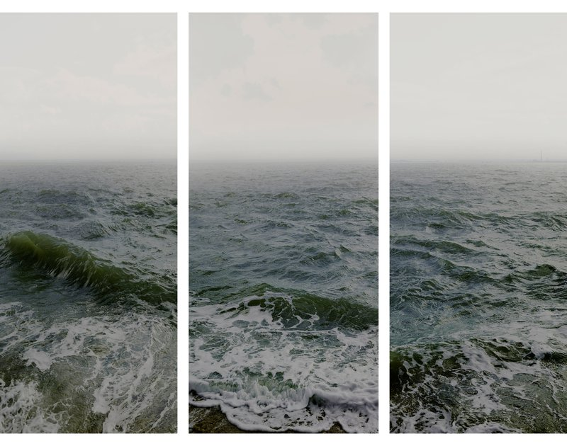 Water I part 1, 2 & 3, (Shoeburyness towards The Isle of Grain), England, 2015, (C) Nadav Kander, Courtesy of Flowers Gallery London and New York.jpg